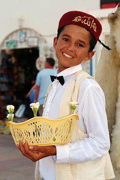 Tunisian boy at Yasmine Beach Resort (Hammamet, Tunisia) by ~SofianeAV