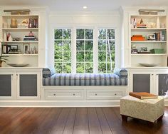 How to Build a Window Seat Traditional