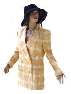 Escada Blazer 100% Leinen EDEL Gr. 38 - 40 Willkommen im  www.Chelsea-Fashion-Glamur.de  Shop Secondhand und Neuware Mode zu günstigen Preisen   Dies und Das für jeden was.....