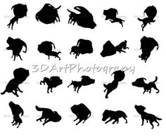Labrador dog Silhouettes  Print drawing PNG image Labrador