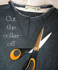 DIY T shirt Shrug Refashion Tutorial