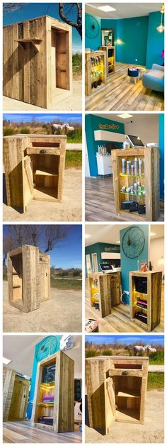 Pallet Cosmatics ideas