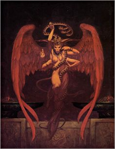 Dark Fantasy Art by Gerald Brom not one of my favorites but still its brom