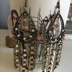 Very Beautiful Long Earings 4in beautiful Earrings Jewelry Earrings