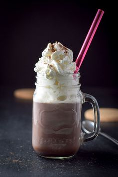 And now for something very different... Not sure whether this Snow Plow cocktail is named for its leading white stuff (in this case, whipped cream) or for the perfect reason to indulge in adults-only hot chocolate: another day behind the snow plow. Or shovel. God bless snow days!! http://ddel.co/snplck
