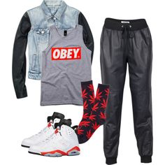 OBEY created by quira2002 on Polyvore