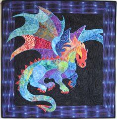Motif thermocollant Applique Dragon par coopersquilts sur Etsy