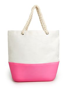 Silicone Bottom Beach Tote, PERFECT for the pool or beach! | DAILYLOOK