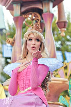 Aurora. In all my Disney World trips and Pinterest stalking, I've never seen a more perfect actress for Sleeping Beauty