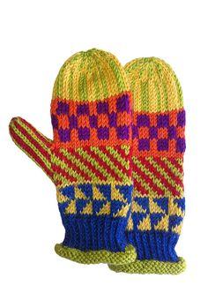 MittensChildren'sHand knitIcelandic by LizSox on Etsy.
