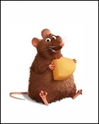 Emile / Ratatouille / Pixar / Bradi Bird / Jan Pinkava / 2007