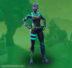 NiteLite Outfit in Fortnite Battle Royale.