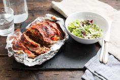 Koken met aanbiedingen: makkelijk gehaktbrood met een simpele salade