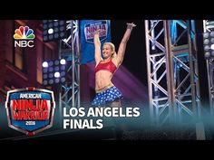 Jessie Graff at the Los Angeles Finals - American Ninja Warrior 2016 - YouTube