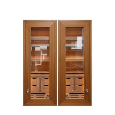 Humidor incorporation solutions two separate interior spaces