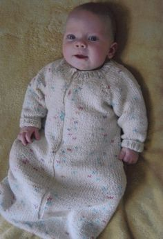 Knitting Pure and Simple Baby & Children Patterns - 103 - Baby Sleeping Bag Pattern