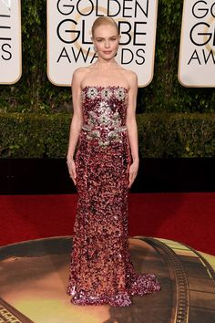 Kate Bosworth Dress at Golden Globes 2016 | POPSUGAR Fashion
