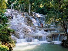 Dunn's River Falls, Jamaica (2009)