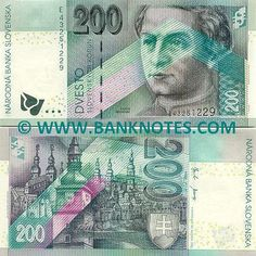Slovakia Currency - historical
