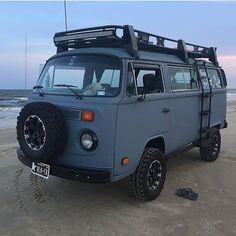 Image may contain: outdoor Volkswagen Bus, Beetles Volkswagen, Vw T2 Camper, Vw Bus T2, Vw T1, Travel Camper, Auto Camping, Camping Life, Wolkswagen Van