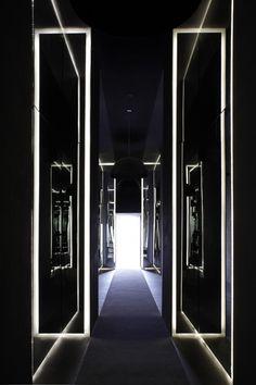 Hotel entry.