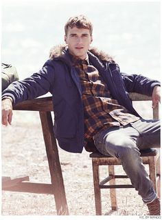 Clément Chabernaud Casual Winter 2014 Styles for H.E. by Mango i