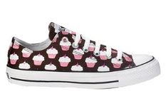 Cupcake Converse For Girls | Girls Athletic ::: Converse All Star Lo-Top Cupcake - Medium... review ...