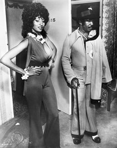 Pam Grier, Coffy, 1973, blaxploitation film written and directed by American filmmaker Jack Hill