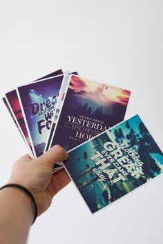Quote Postcards - Set of 15 Limited Edition