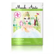 #Detox Diva #Facial Sheet #Mask :  DETOX DIVA Our MaskerAide skincare range combines playful design with serious ingredients, these 6 superhydrating facial sheet masks target the skin concerns of fabulous women everywhere. Whether you're a beach baby, jet setter or party girl, MaskerAide comes to the rescue! MaskerAide is a fibre based mask soaked in a highly concentrated serum that is infused with vitamins and nutrients Price: Rs 400 http://mumbaigoesgreen.com/node/16262