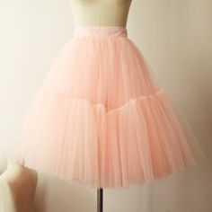 Pink tulle skirt, adult tulle skirt, plus size tulle skirt