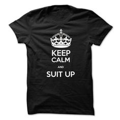 Keep calm and suit up suits T Shirts, Hoodies, Sweatshirts. CHECK PRICE ==► https://www.sunfrog.com/TV-Shows/Keep-calm-and-suit-up-suits.html?41382