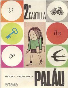 Cartilla de lectura Palàu Nostalgia, My Memory, Sociology, Vintage Ads, Childhood Memories, Kids Rugs, Retro, Prints, Curiosity