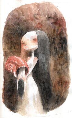 #Illustration by Tony Sandoval (2) ::: #Art #Drawing