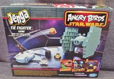Description: Jenga Angry Birds Star Wars Tie Fighter/  Game Ages 8 And Up 1 To 2 Players/  Item ID: 3 TARGET