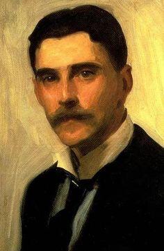 Philip Blake - L'Esprit du Tout Paris - [Portrait de Robert Brough par John Singer Sargent (détail) Date c. 1900.]