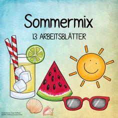 Sommermix Schön langsam neigt sich nun auch in Bayern das Schuljahr dem Ende zu. Nächste Woche werden wir in erster Linie wiederholen und ...