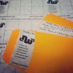 Program Ideas: Give your residents an extra incentive for attending programs with program reward cards. A filled card should net a nice participation prize. Resident Assistant, Resident Advisor, RA ~
