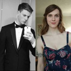 Phone cameras sure have come a long way in 4 years months HRT) - lgbt Male To Female Transformation, Brave Women, Transgender People, Tgirls, 4 Years, Crossdressers, Nice Tops, Lgbt, Boy Or Girl