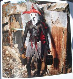Kanaval Voodoo costume, Jacmel, Haiti