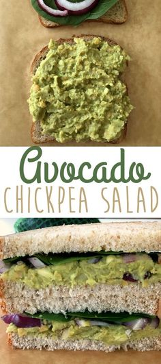 The perfect healthy vegan lunch idea try this delicious avocado chickpea salad sandwich sandwich Yummy on toast crackers and in a pita pocket too Top with your favorite v. Veggie Recipes, Whole Food Recipes, Vegetarian Recipes, Cooking Recipes, Healthy Recipes, Veggie Lunch Ideas, Vegan Chickpea Recipes, Fennel Recipes, Healthy Foods