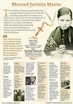 Thought for the Day - February 20 #pinterest  The Church is always very cautious about endorsing alleged apparitions but it has seen benefits from people changing their lives because of the message of Our Lady of Fatima. Prayer for sinners, devotion to the Immaculate Heart of Mary and praying the rosary—all these reinforce the Good News Jesus came to preach. Mary, at Fatima, again bore Jesus to the world..................| Awestruck Catholic Social Network
