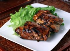 Teriyaki Chicken - slightly sweet (not cloyingly so), savory, simple and best of all, easy enough for a weeknight meal.