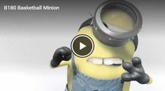 Funny Minion Videos, Minions, Basketball, Youtube, The Minions, Minions Love, Youtubers, Youtube Movies, Minion Stuff
