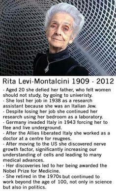 What a woman! Yo quisiera ser como ella, pero mi padre siempre me apoyó.