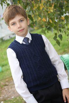 Детский жилет с аранами «Пембрук»: размеры от 6 мес. до 8 лет . Обсуждение на LiveInternet - Российский Сервис Онлайн-Дневников