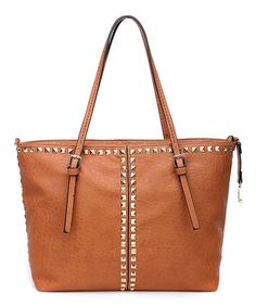 Amore Camel Aleesa Tote by Amore #zulily #zulilyfinds