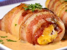 Stuffed Breasts in Chipotle Sauce - Pechugas Rellenas en Salsa Chipotle I Love Food, Good Food, Yummy Food, Kitchen Recipes, Cooking Recipes, Healthy Recipes, Pollo Recipe, Mexican Food Recipes, Ethnic Recipes