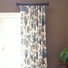 Short Side Panel Curtain Rods Short Curtain Rods