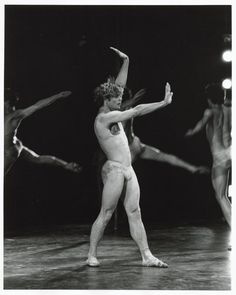 "Mikhail Baryshnikov in ""Le Sacre du Printemps"" (choreography by Glen Tetley), 1976"